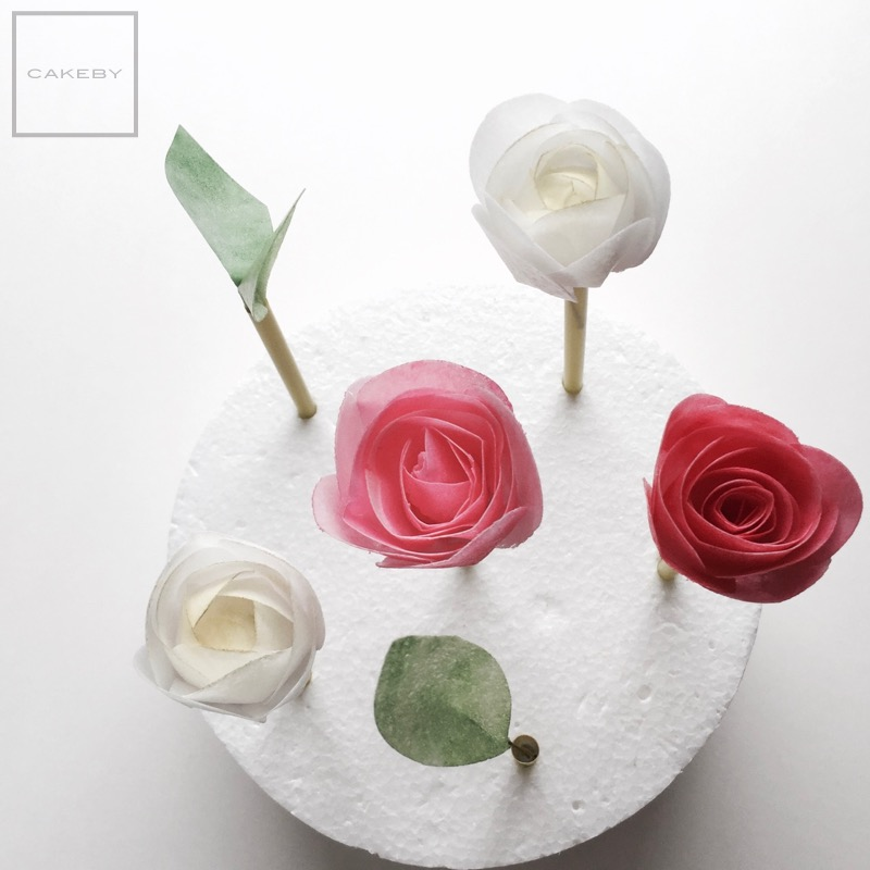 wafer paper flower