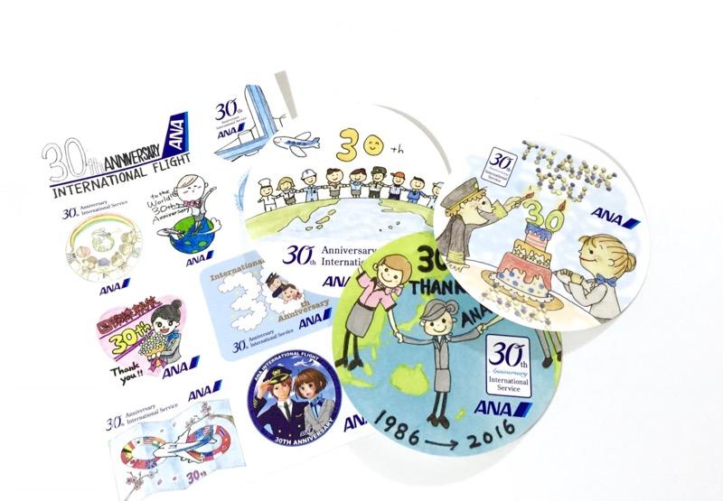 Stickers ANA