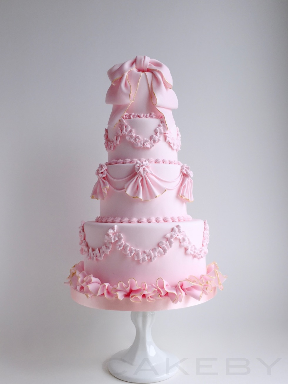 cakeby.jp ribbon cake