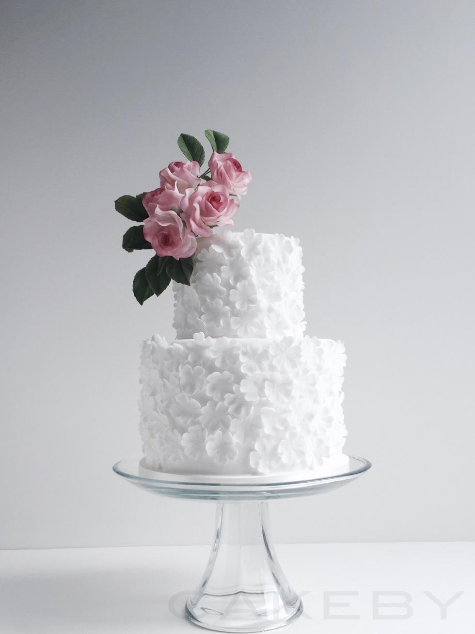 cakeby.jp rose cake