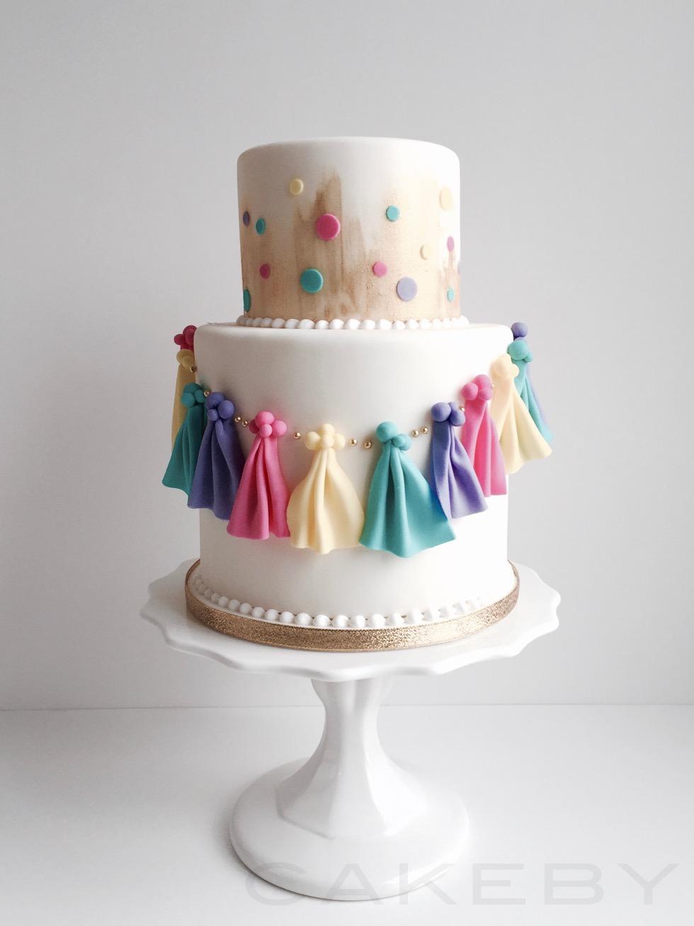 cakeby.jp garland cake